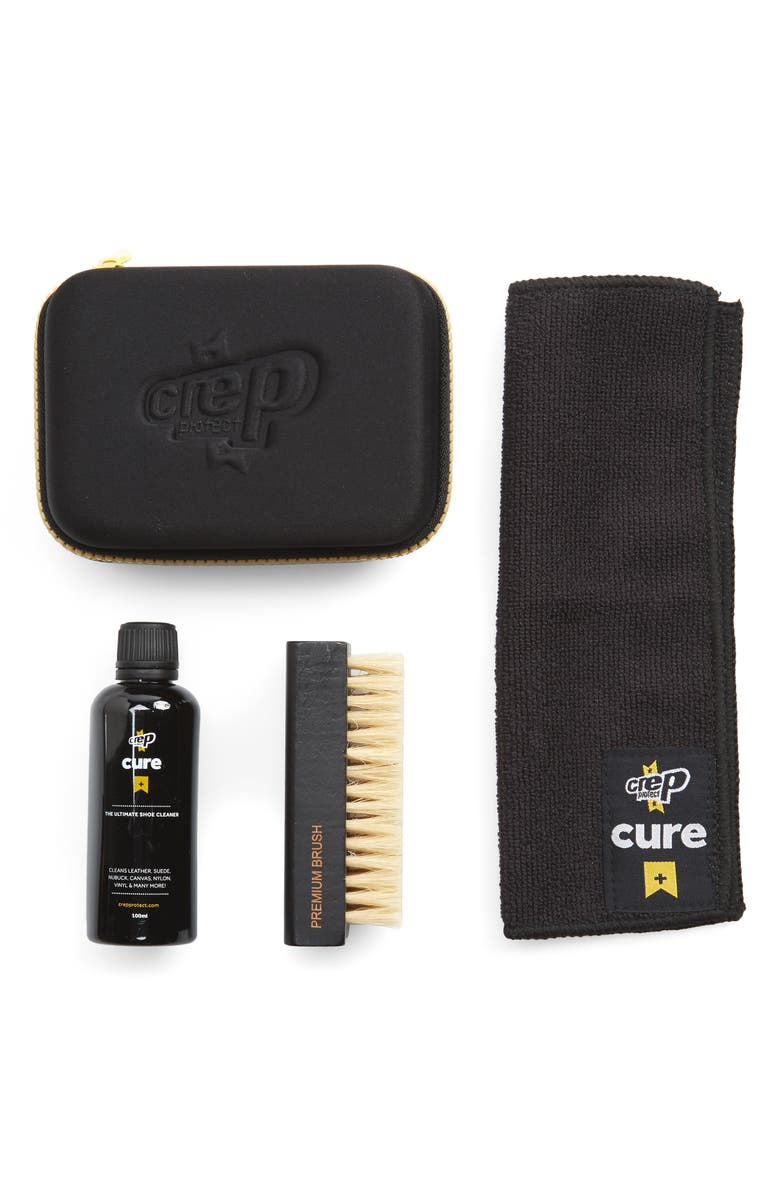 CREP PROTECT Cure Shoe Cleaning Travel Kit, Main, color, NONE