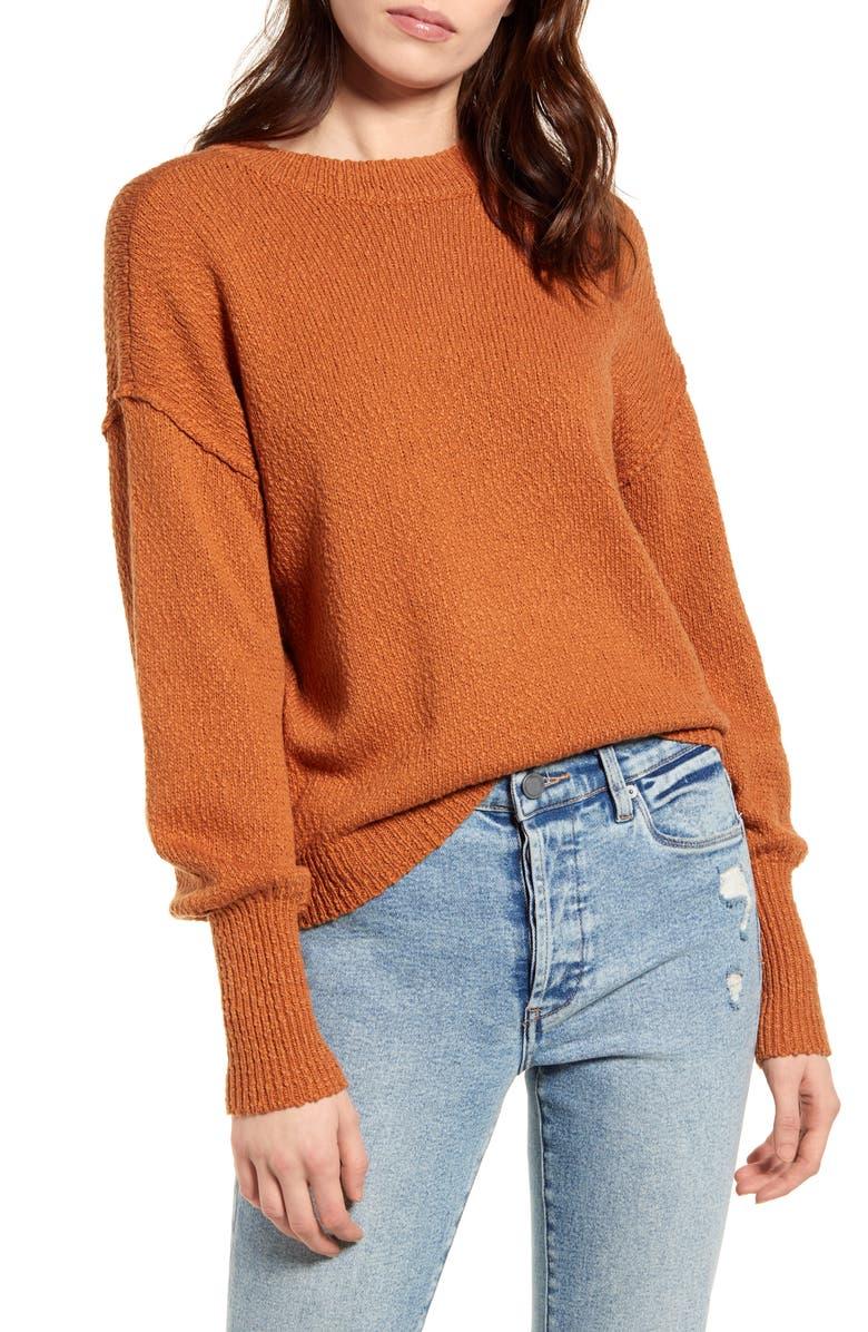 BP. Drop Shoulder Pullover, Main, color, 230