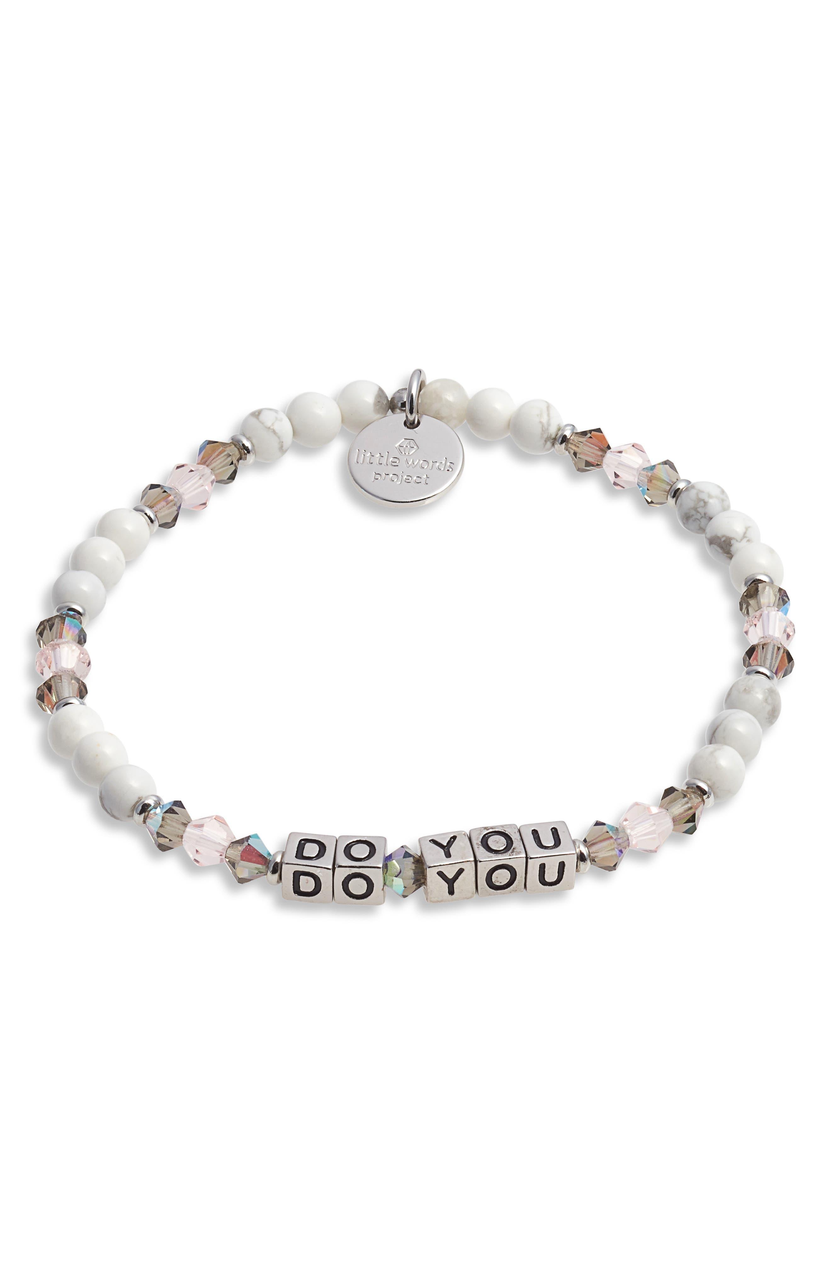 Do You Beaded Stretch Bracelet