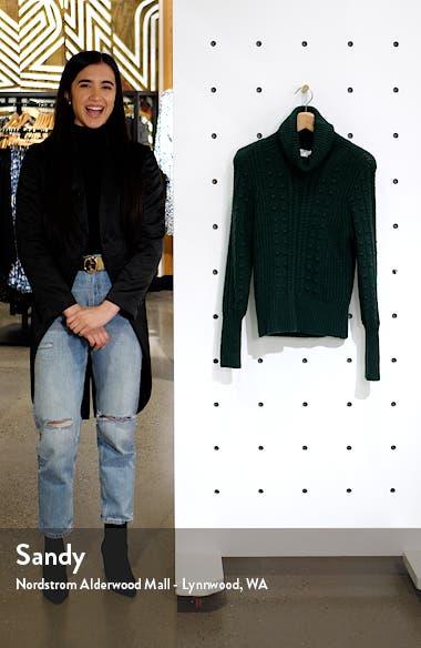 Cable & Bobble Turtleneck Sweater, sales video thumbnail