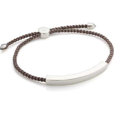 Monica Vinader Engravable Friendship Bracelet