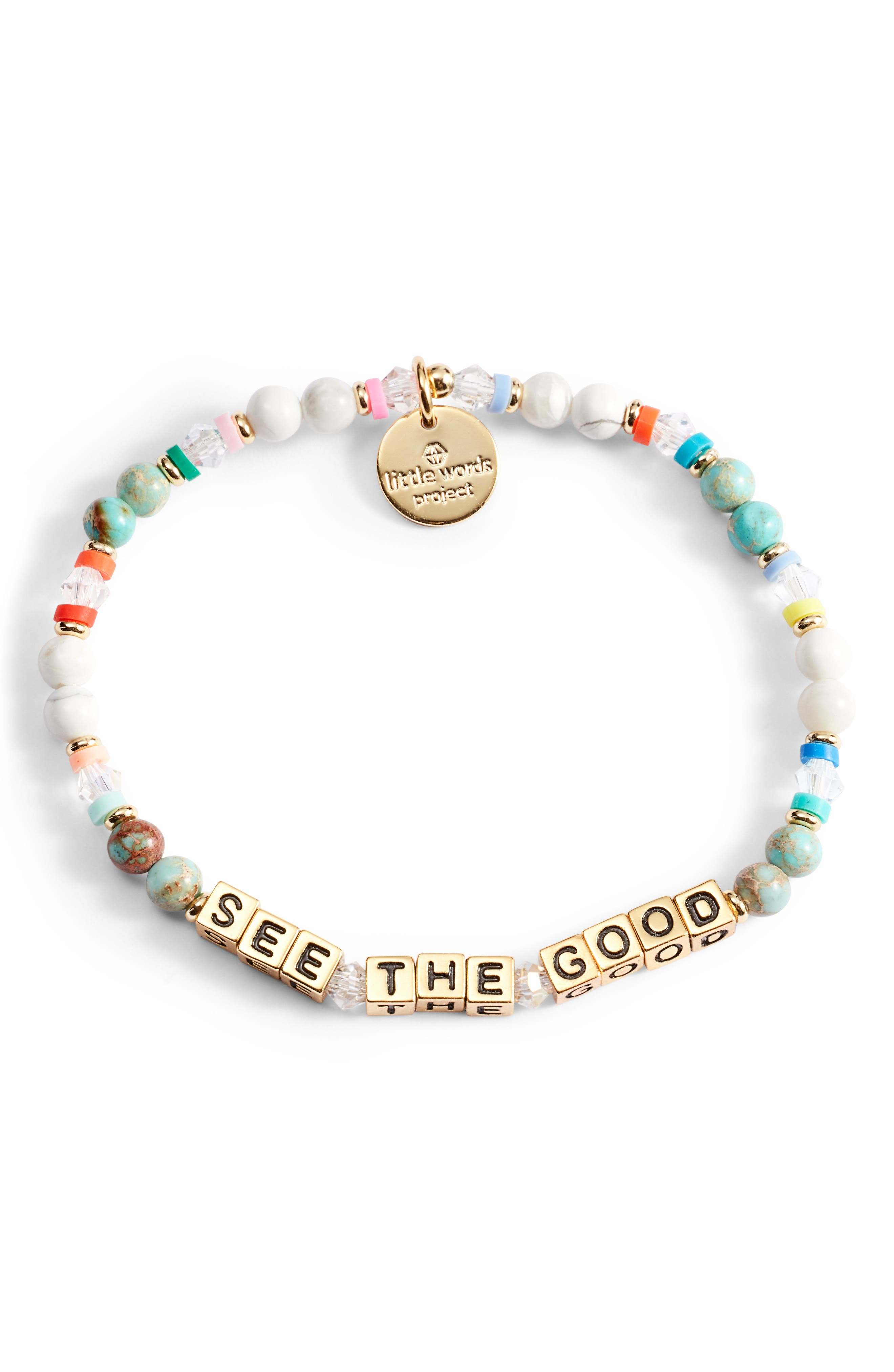 See The Good Beaded Stretch Bracelet