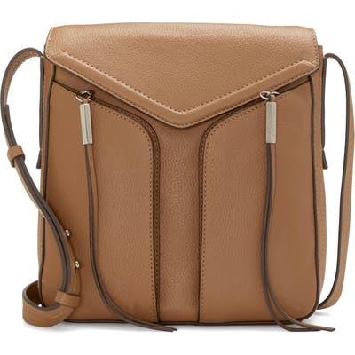 Vince Camuto Mika Leather Crossbody Bag - Beige