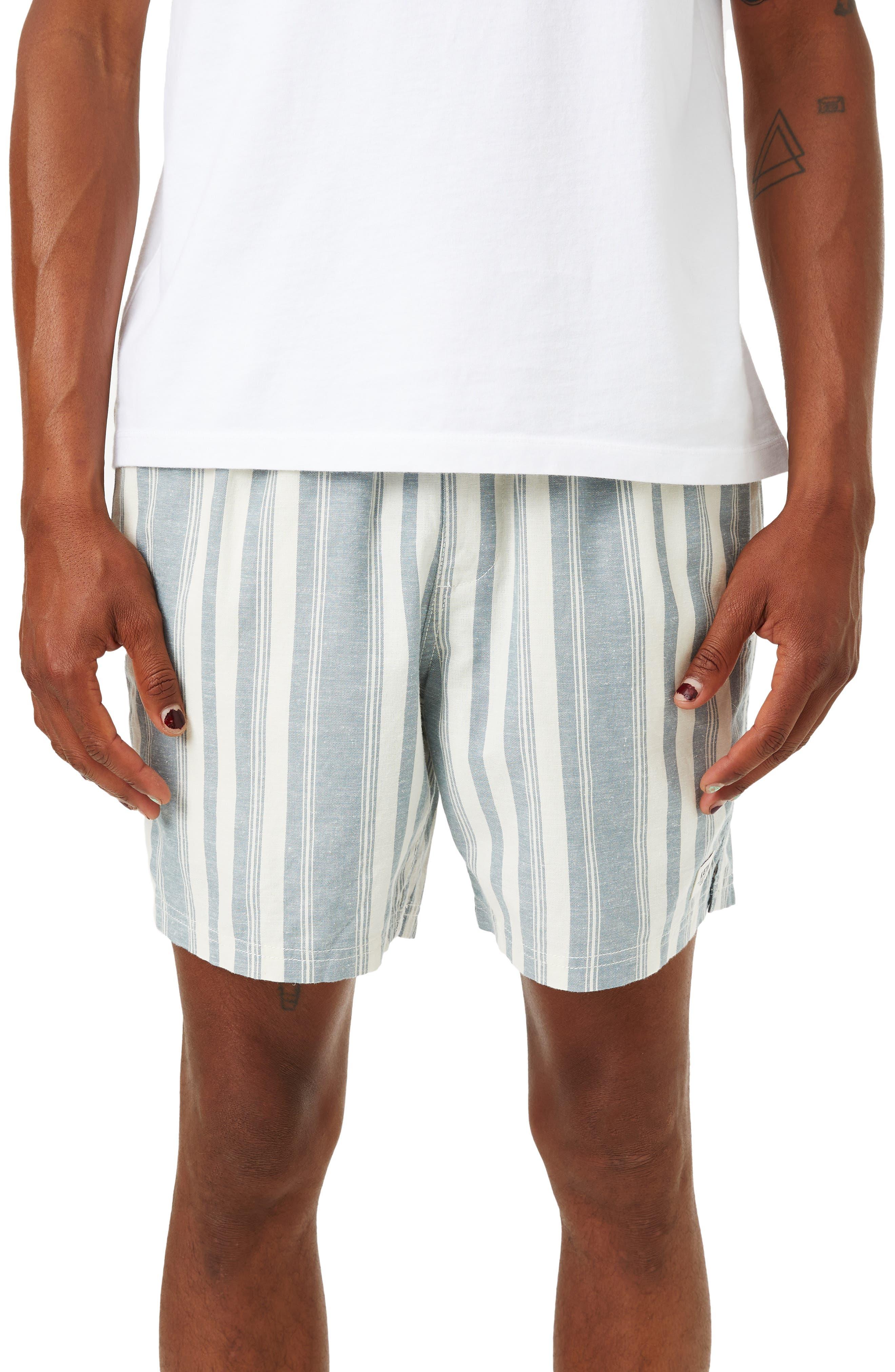 Ian Local Cotton & Linen Walking Shorts