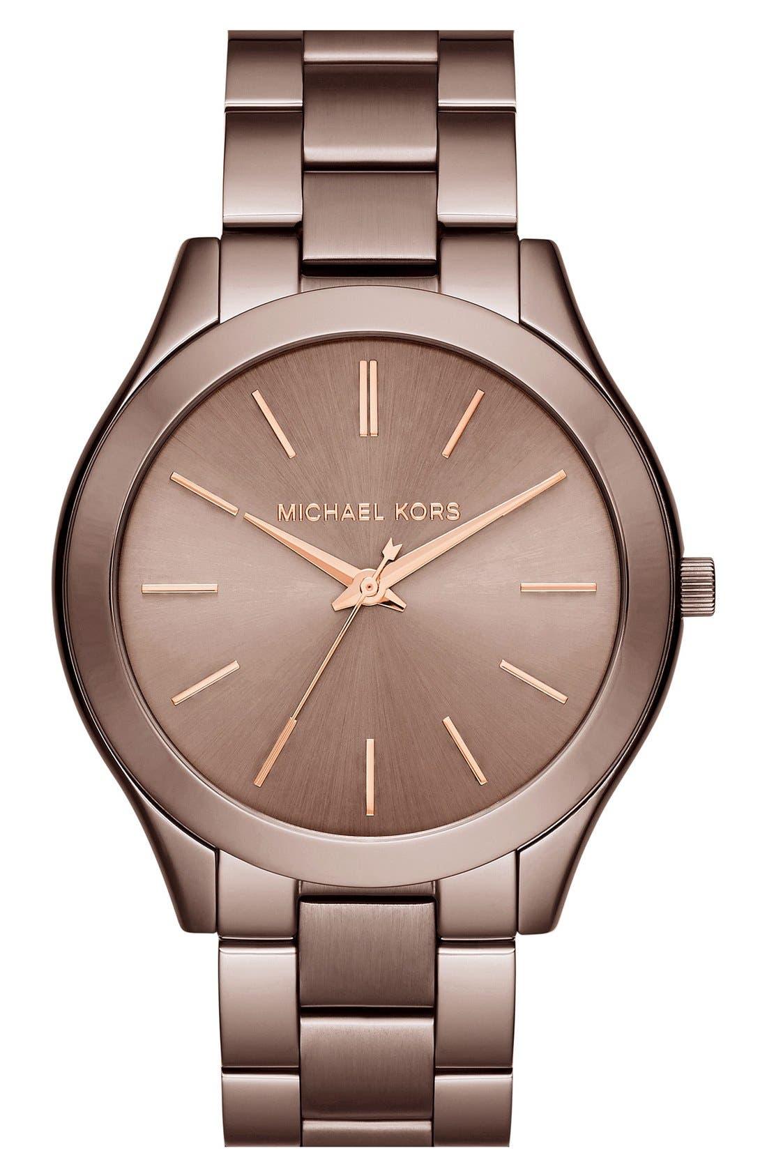 ,                             'Slim Runway' Bracelet Watch, 42mm,                             Main thumbnail 29, color,                             200
