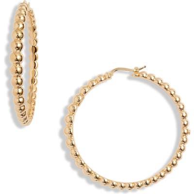 Roberto Coin Classico Oro Hoop Earrings
