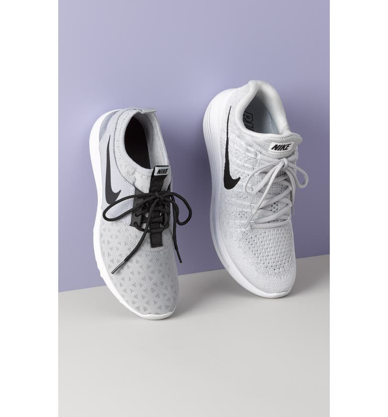 NIKE LunarEpic Low Flyknit 2 Running Shoe, Main, color, 014