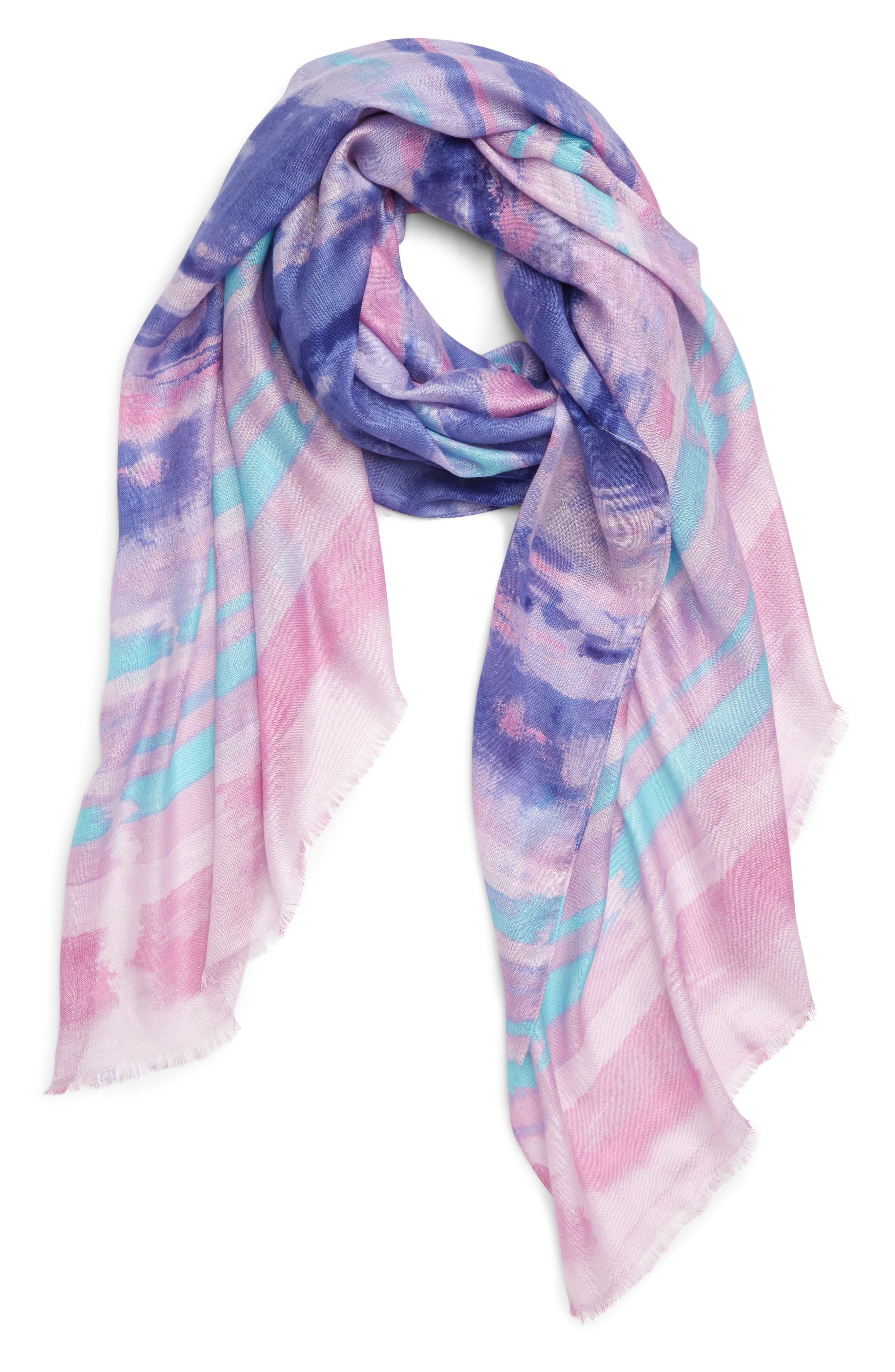,                             Print Modal Scarf,                             Alternate thumbnail 10, color,                             510
