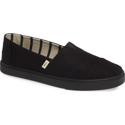 Toms Alpargata Slip-On- Black