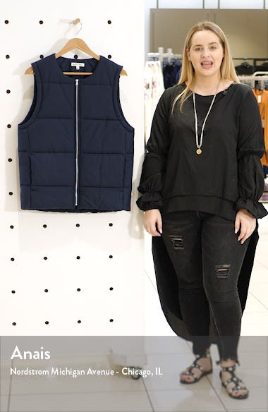 Cortina Puffer Vest, sales video thumbnail