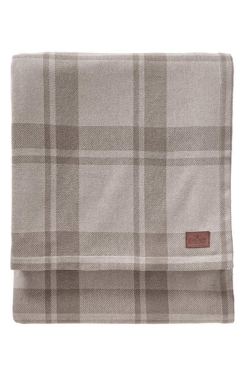PENDLETON Stillwater Blanket, Main, color, NEUTRAL