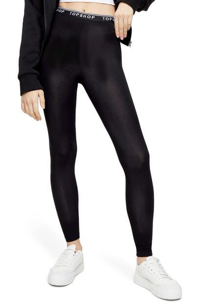 Topshop Pants 2-PACK LEGGINGS