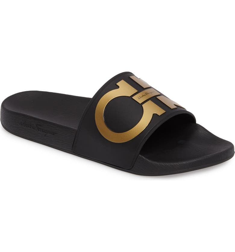 52a7d5aee Salvatore Ferragamo Groove 2 Slide Sandal (Men) | Nordstrom