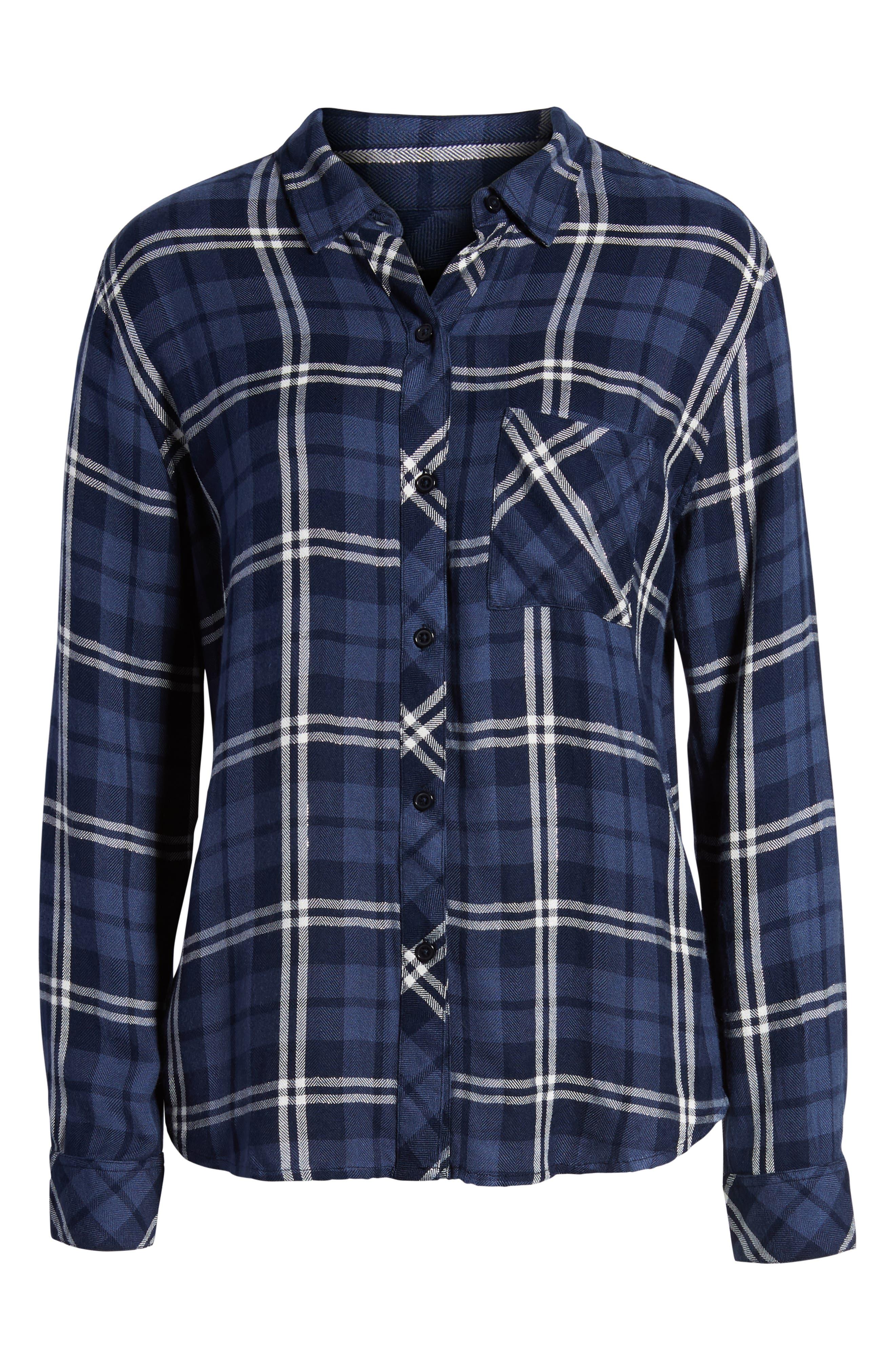 ,                             Hunter Plaid Shirt,                             Alternate thumbnail 107, color,                             422