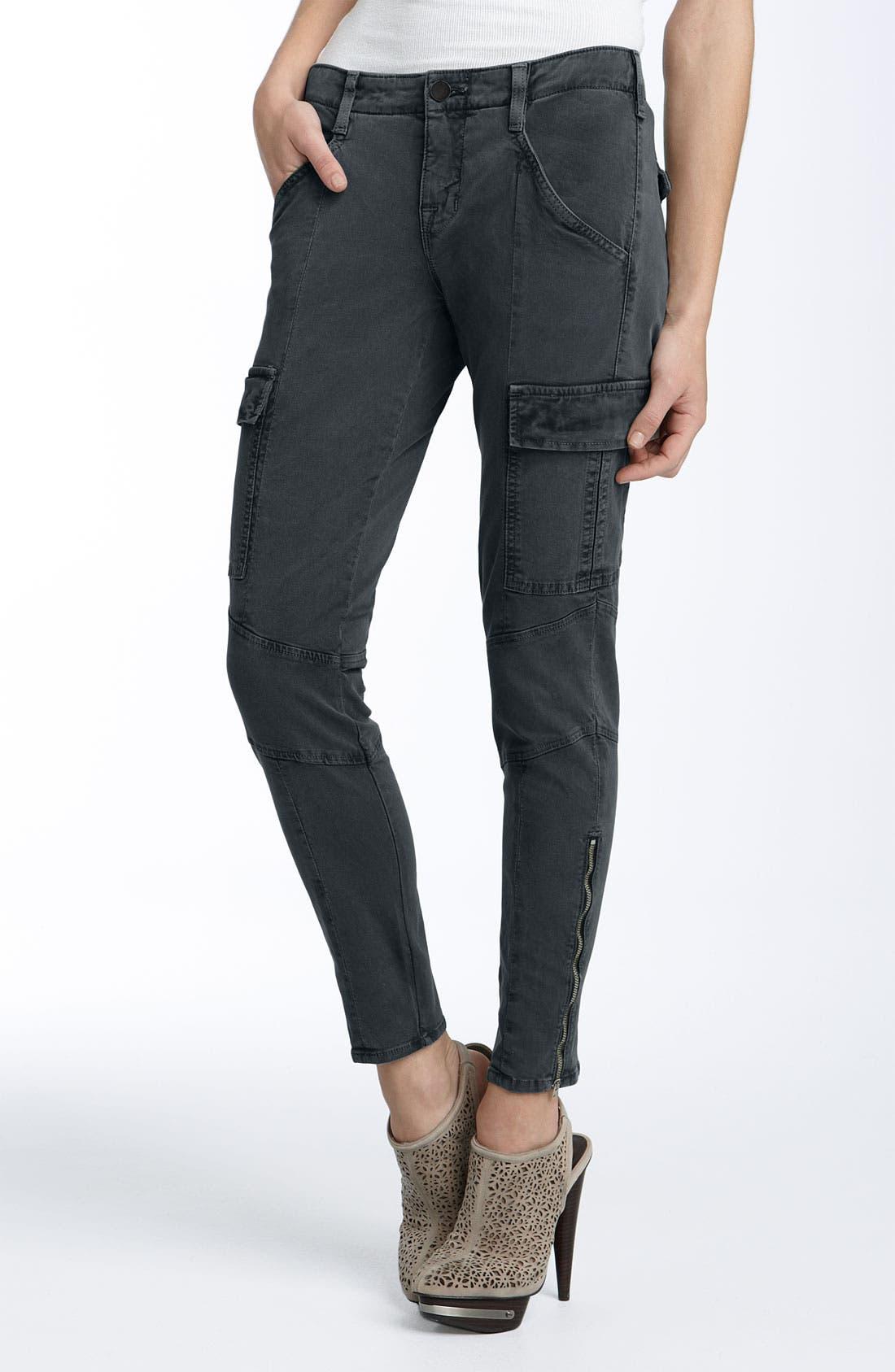 ,                             'Houlihan' Skinny Stretch Cotton Cargo Pants,                             Main thumbnail 12, color,                             402