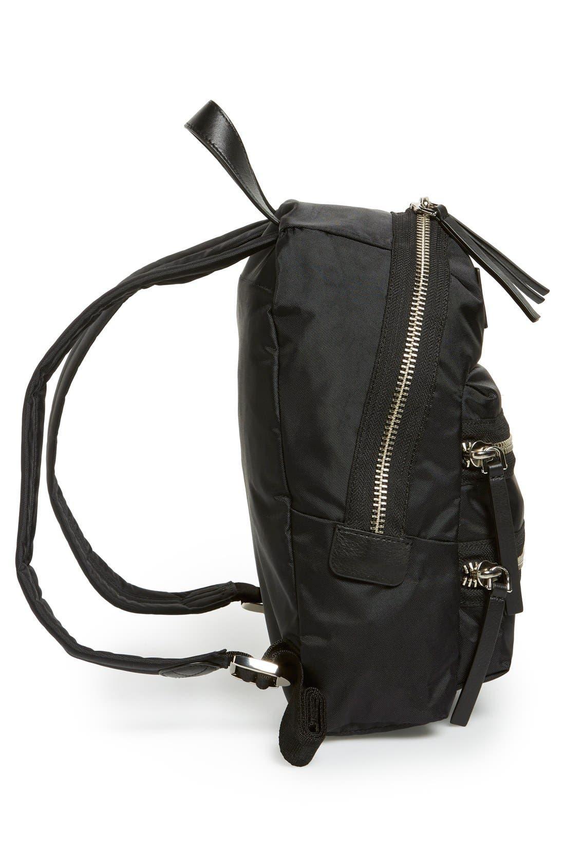 ,                             'Mini Biker' Nylon Backpack,                             Alternate thumbnail 6, color,                             001