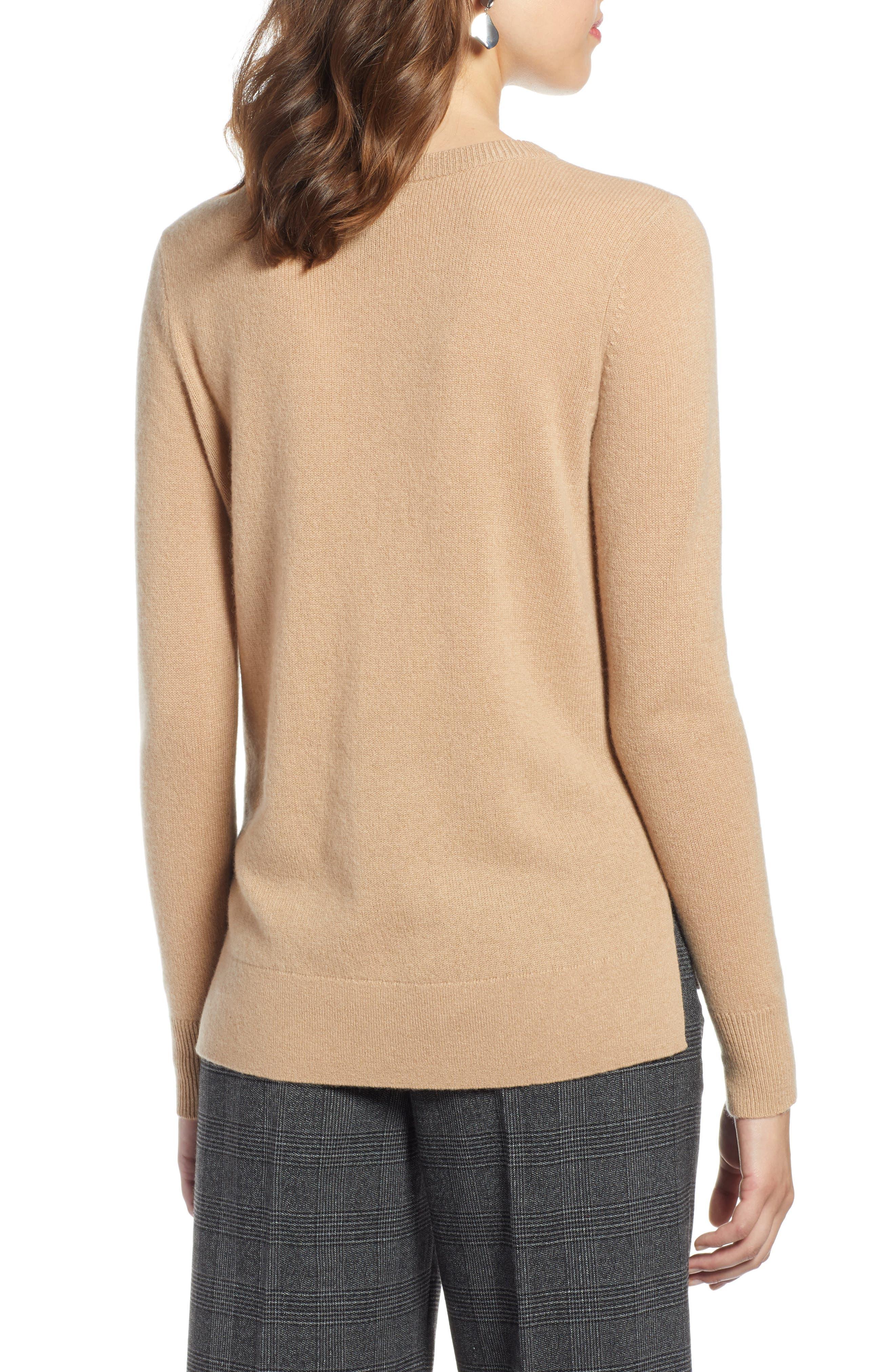 ,                             Crewneck Cashmere Sweater,                             Alternate thumbnail 63, color,                             230