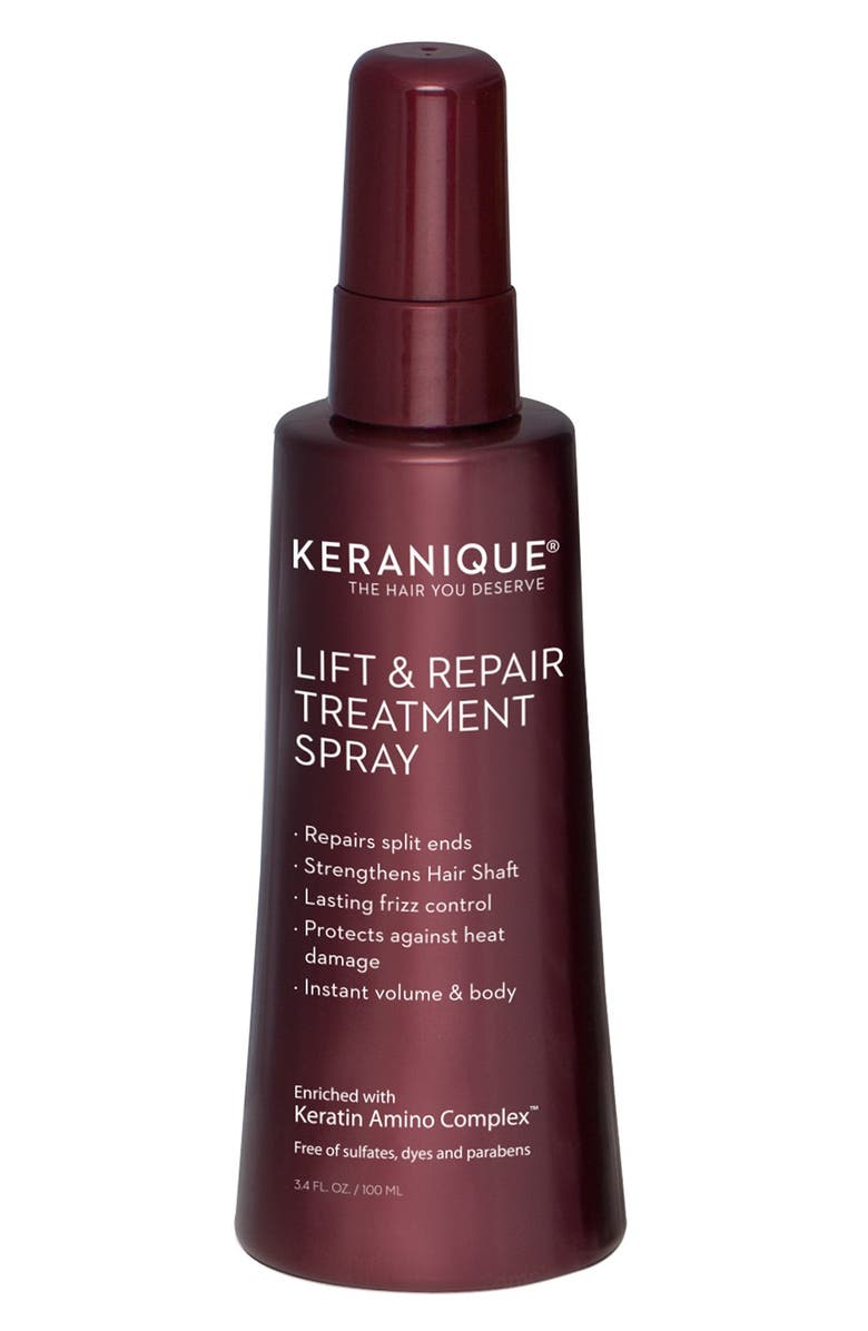 KERANIQUE Lift & Repair Hair Treatment Spray, Main, color, NO COLOR