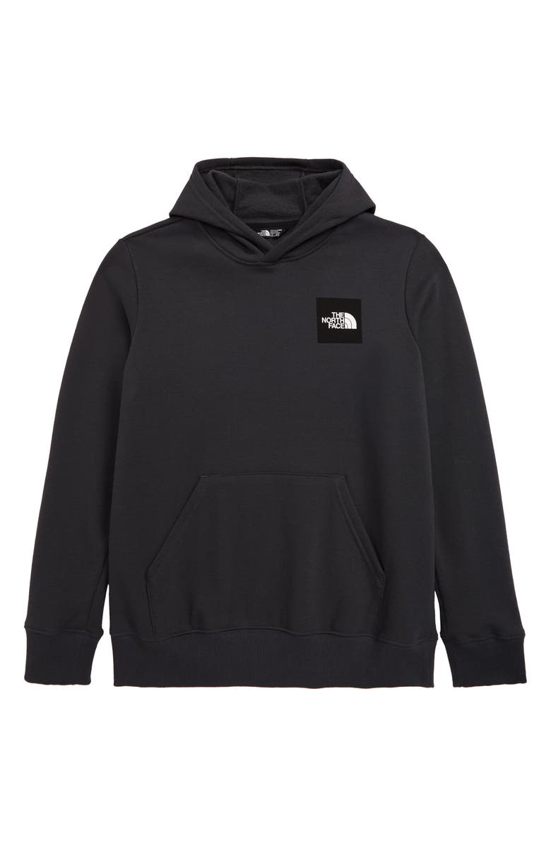 THE NORTH FACE Logo Graphic Hooded Pullover, Main, color, ASPHALT GREY