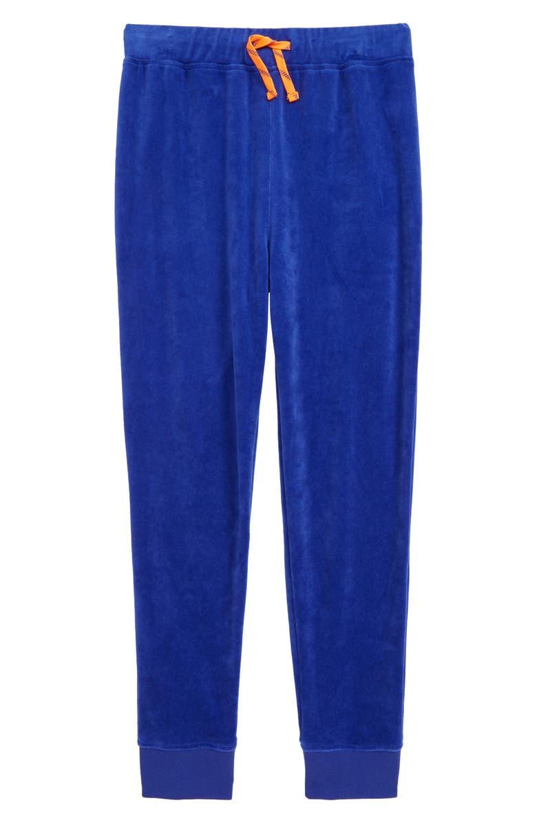 CREWCUTS BY J.CREW Velour Sweatpants, Main, color, 400