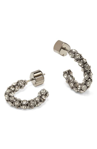 Kate Spade ADORE-ABLES MINI HOOP EARRINGS