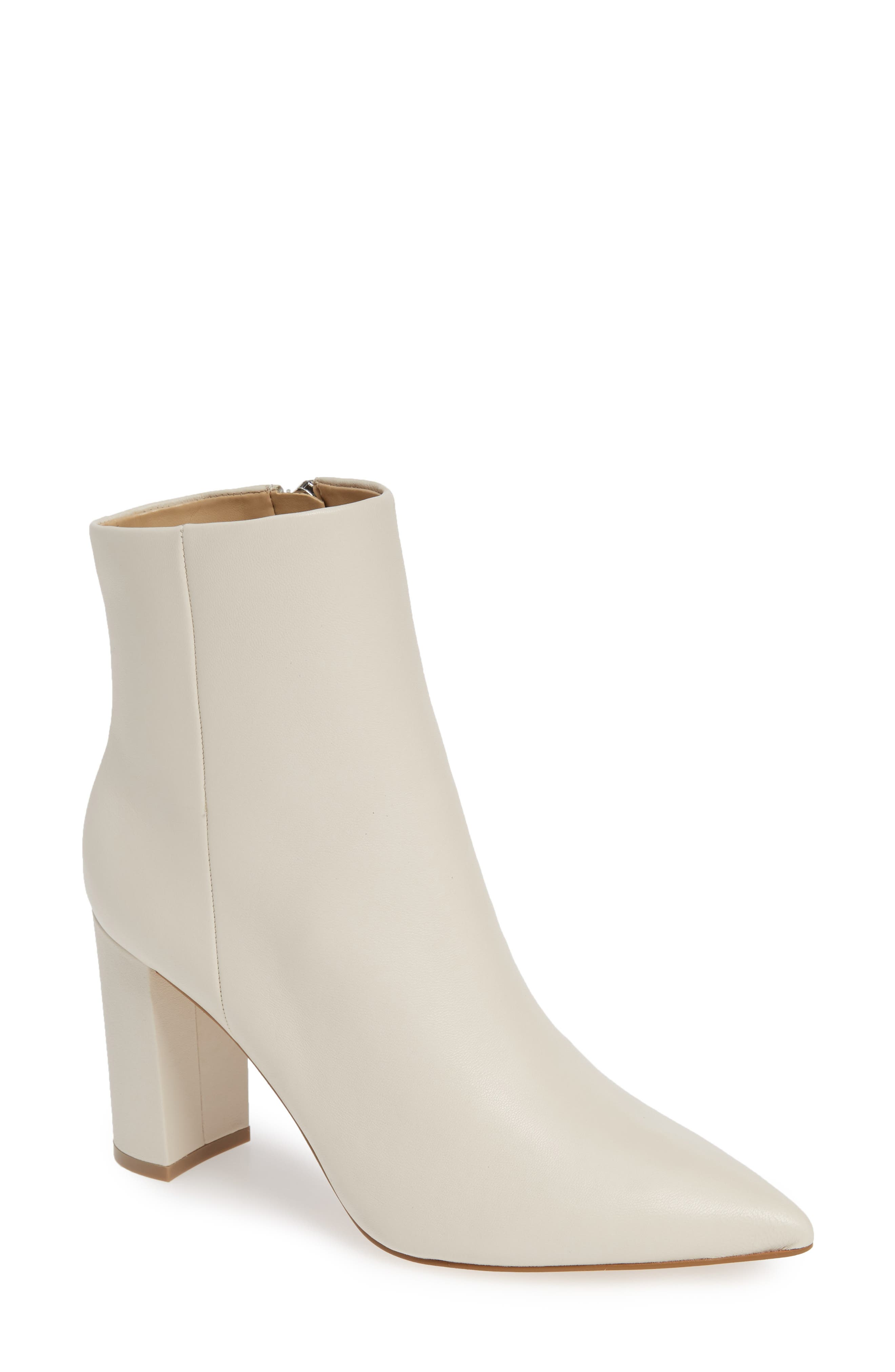 Marc Fisher Ltd. Ulani Pointy Toe Bootie, White