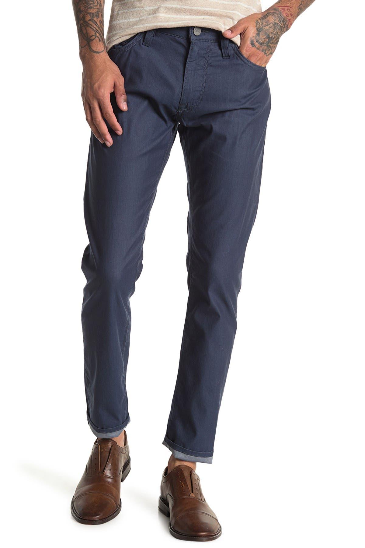 Image of 34 Heritage 34 Cool Marine Reversed Twill Pants