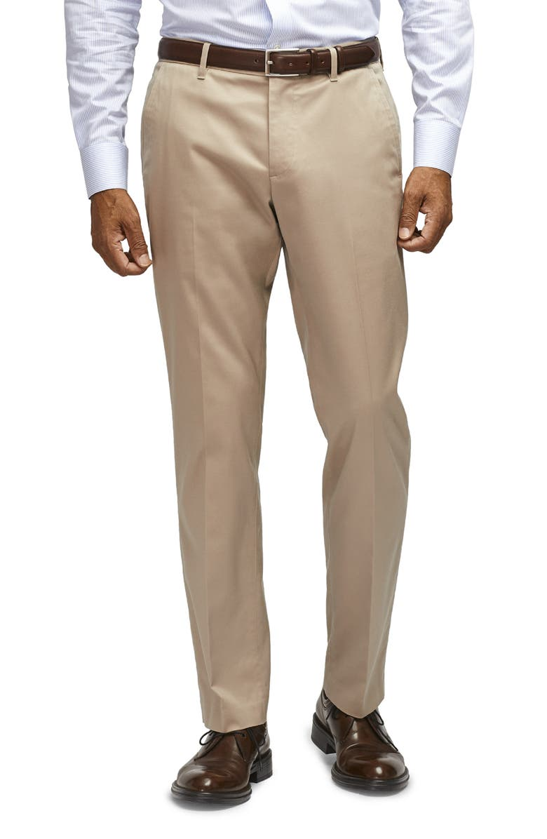 BONOBOS Weekday Warrior Tailored Fit Stretch Pants, Main, color, WEDNESDAY TAN