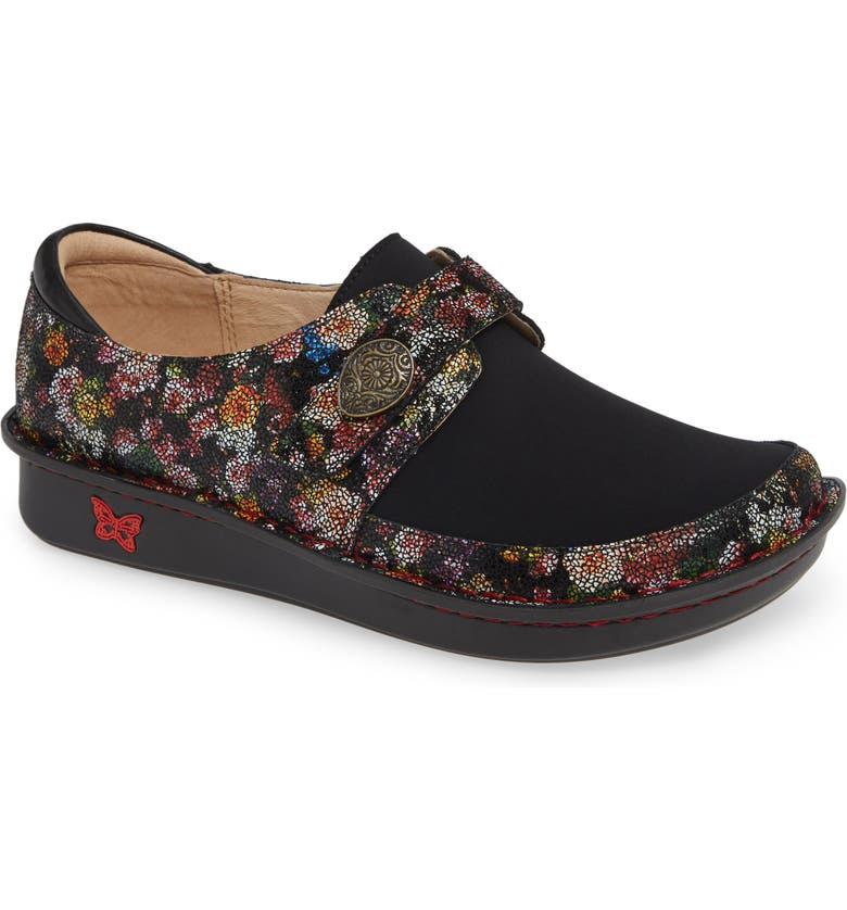 ALEGRIA Brenna Slip-On, Main, color, GARLAND LEATHER