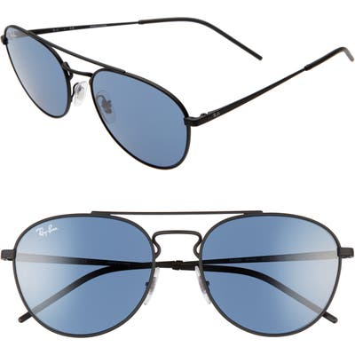 Ray-Ban 55Mm Aviator Sunglasses -