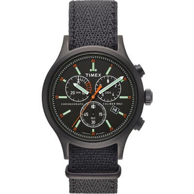 Timex Archive Allied Chronograph Reversible Strap Watch, 42Mm