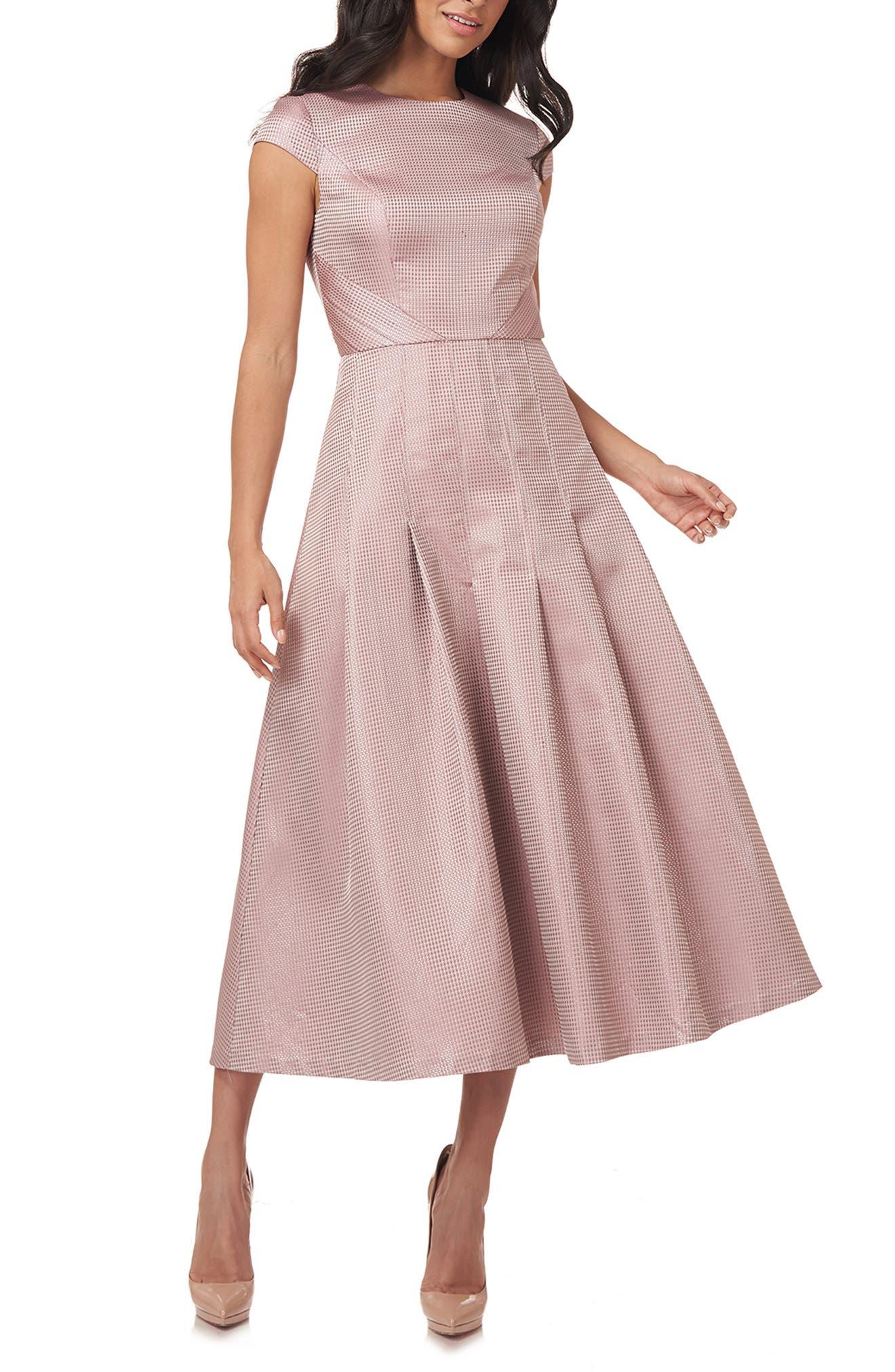 Blake Jacquard Cocktail Dress