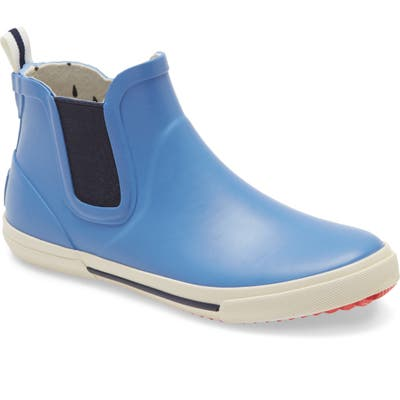 Joules Rainwell Waterproof Chelsea Rain Boot, Blue