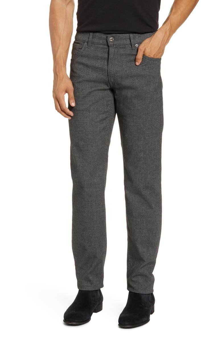BRAX Woolook 2.0 Chuck Five-Pocket Flat Front Pants, Main, color, ANTHRA
