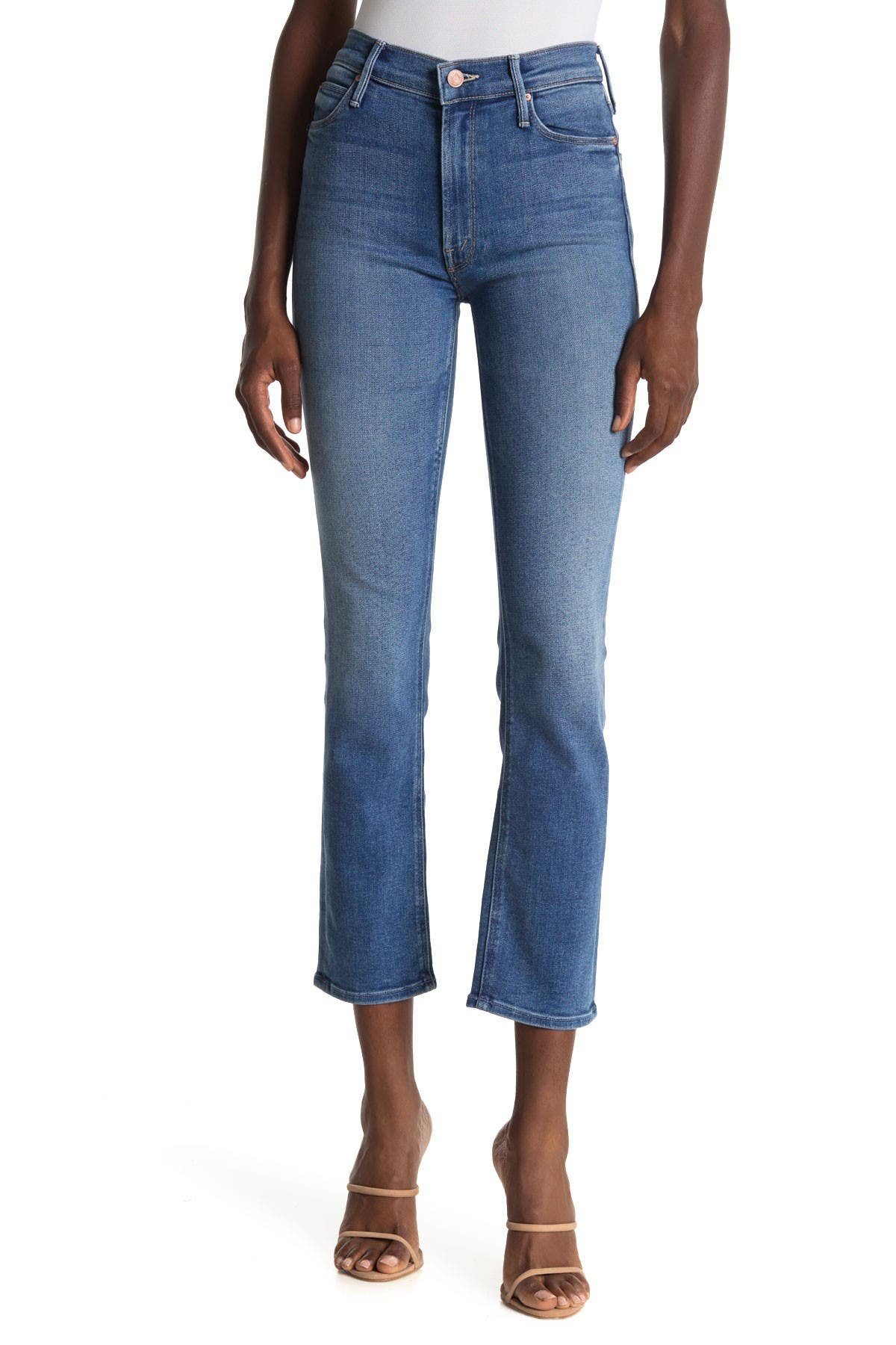 Image of MOTHER The Mid Rise Dazzler Ankle Jeans