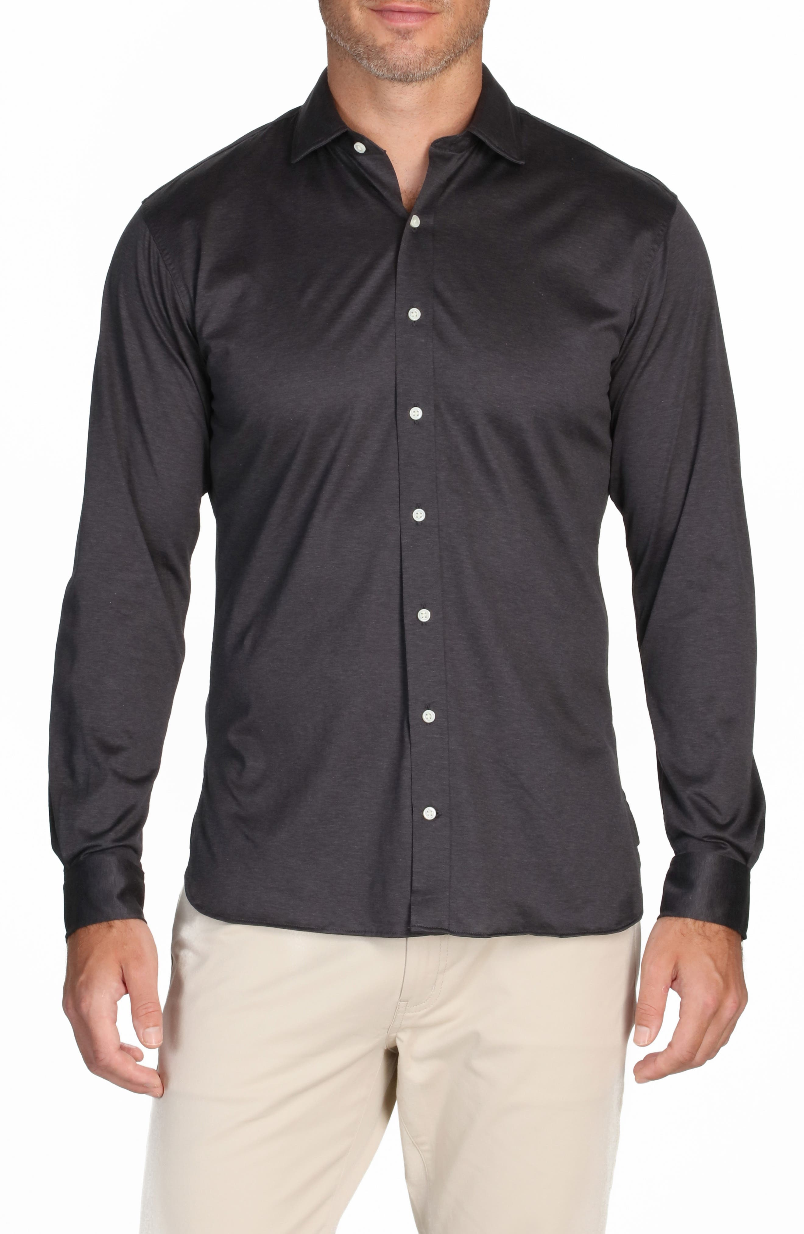 The Zoom Cotton Button-Up Shirt