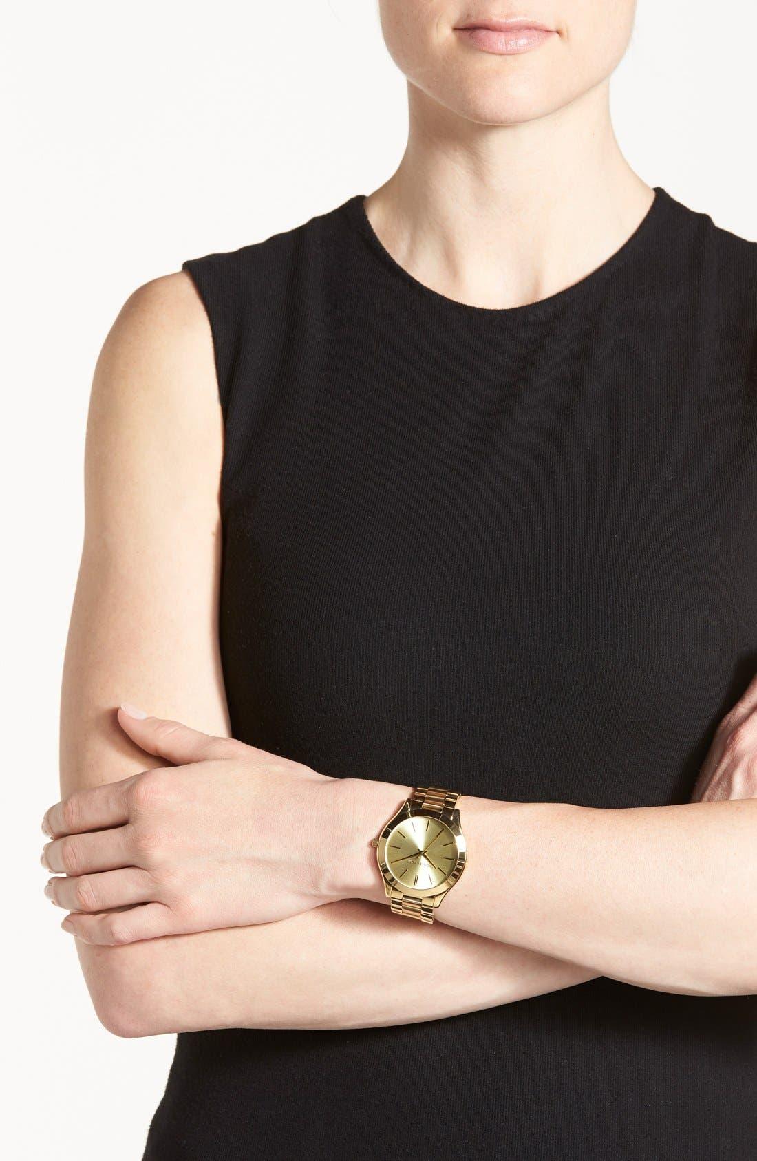 ,                             'Slim Runway' Bracelet Watch, 42mm,                             Alternate thumbnail 41, color,                             710