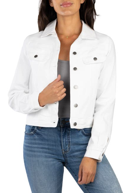 Image of KUT from the Kloth Rene Jacket with Double Front Yokes