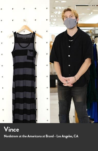 ATM Anthony Thomal Mellilo Stripe Tank Dress, sales video thumbnail
