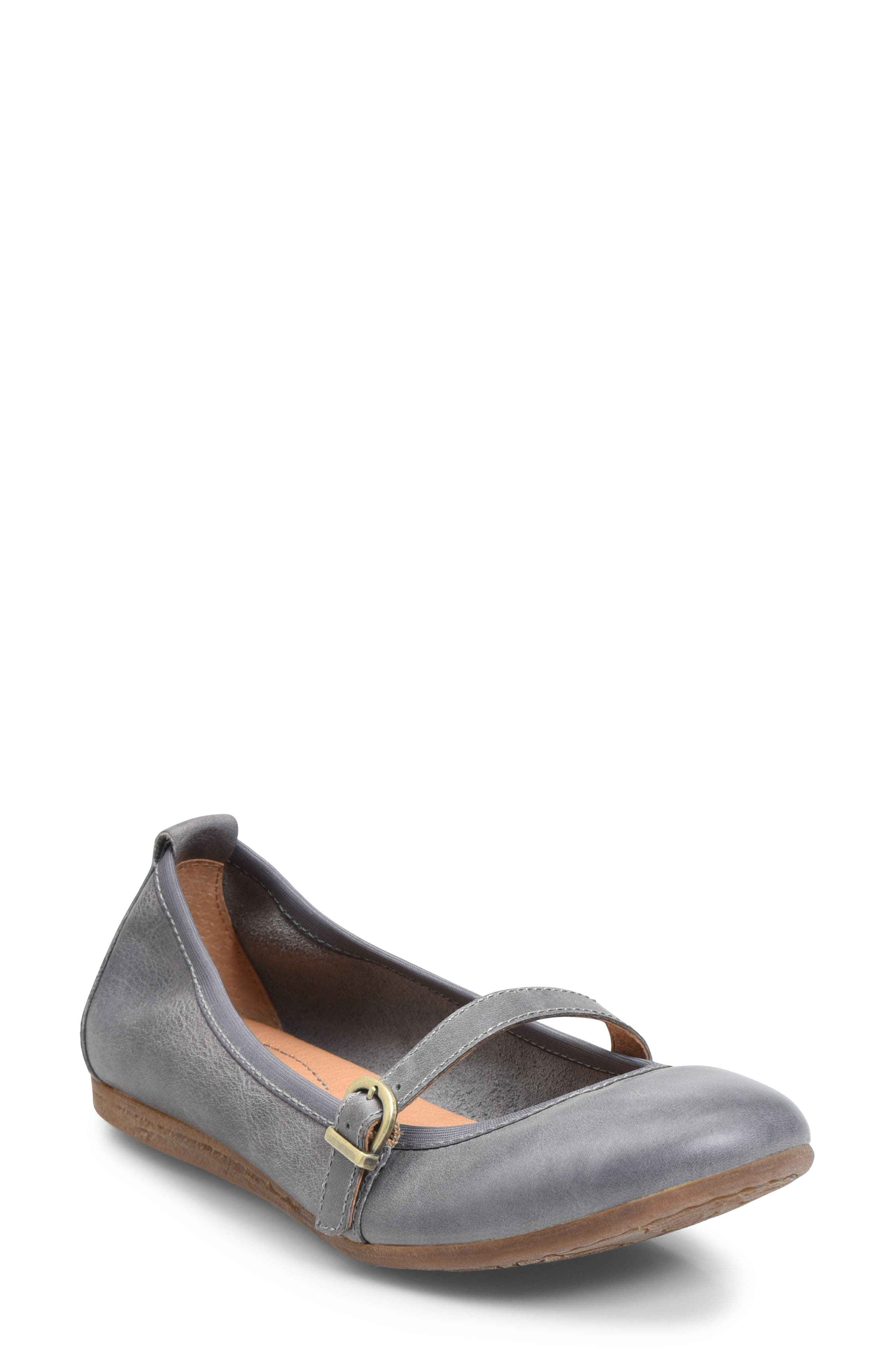 Image of Born Curlew Mary Jane Leather Flat