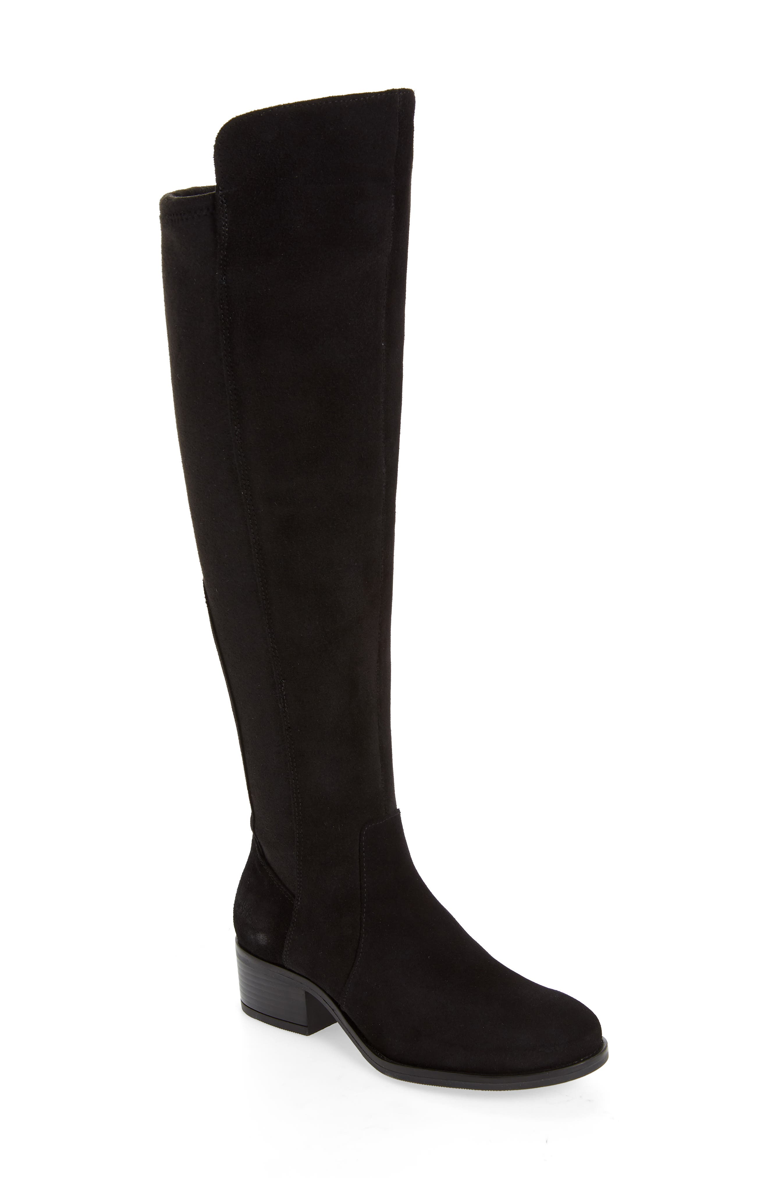 An Aquastop breathable, water-repellent membrane and moisture-wicking lining make this chic over-the-knee boot extra comfortable, whatever the forecast. Style Name: Bos. & Co. Jemmy Waterproof Over The Knee Boot (Women). Style Number: 6086131. Available in stores.