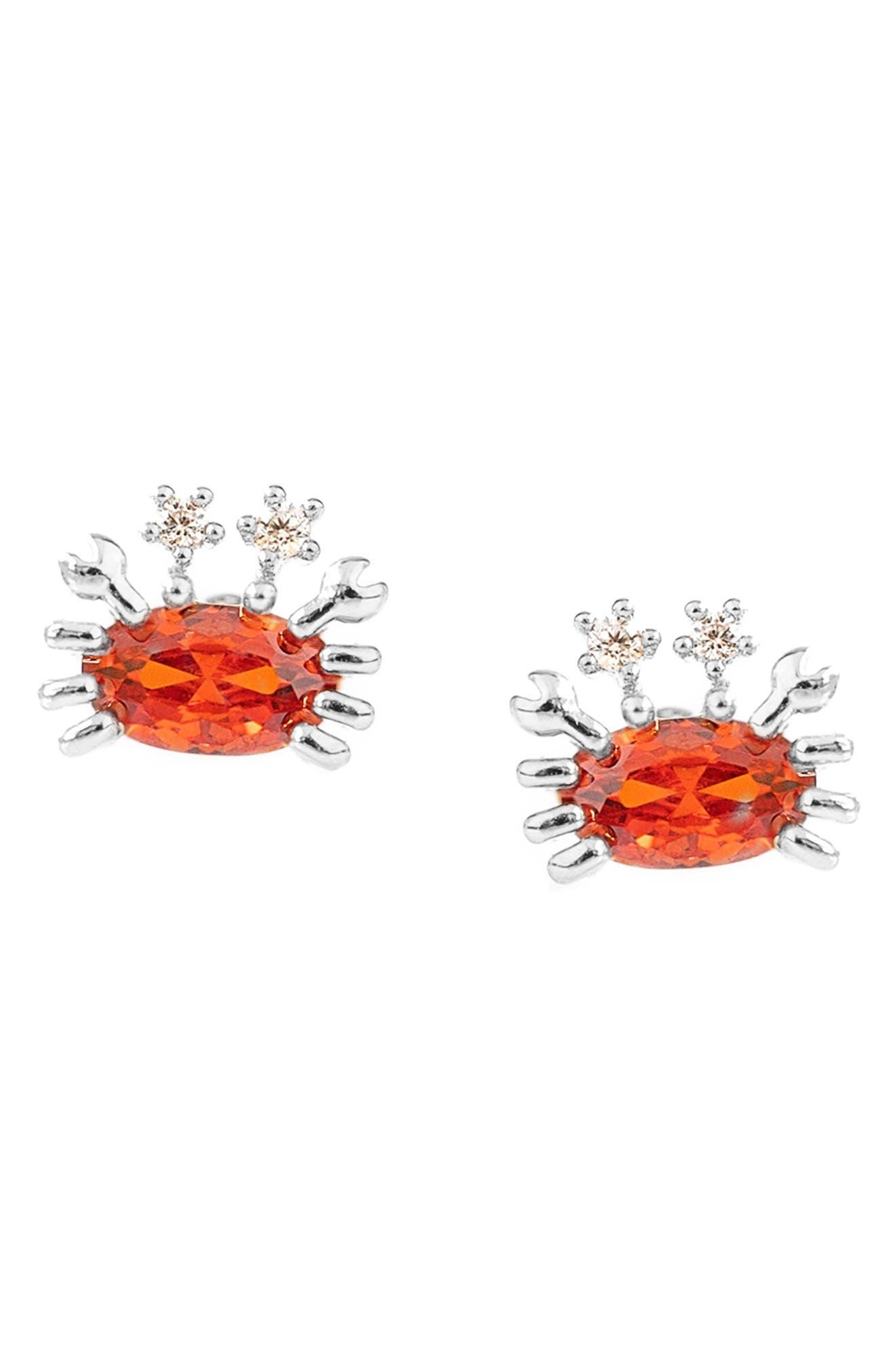 Cutie Crab Stud Earrings