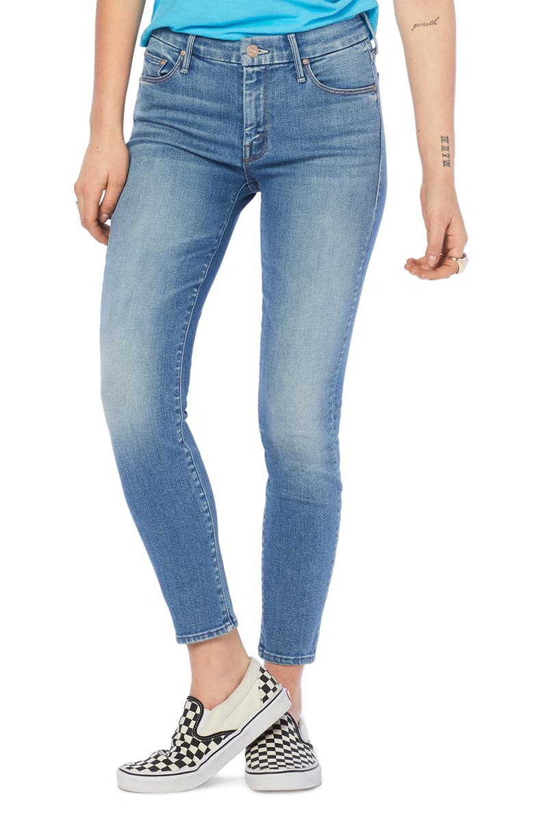 MOTHER The Looker Crop Skinny Jeans, Main, color, A SIDE OF RICE AND BEANS