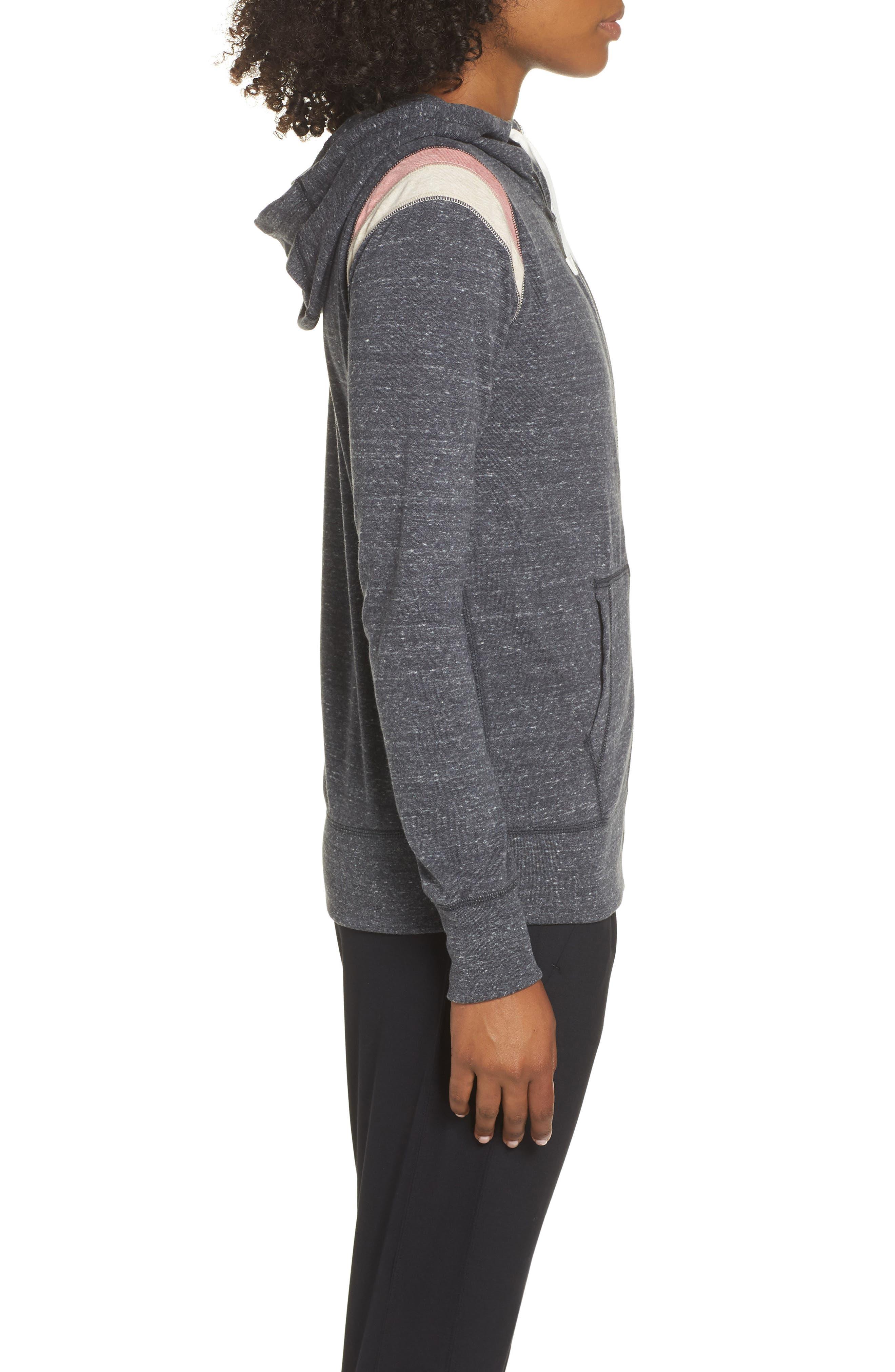 ,                             Sportswear Gym Vintage Zip Hoodie,                             Alternate thumbnail 4, color,                             060