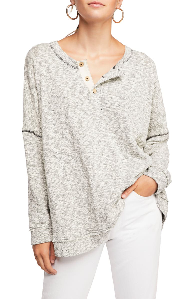 FREE PEOPLE Endless Summer by Free People Sleep to Dream Knit Top, Main, color, ALABASTER