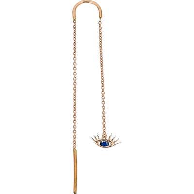 Kismet By Milka Sapphire Threader Earring