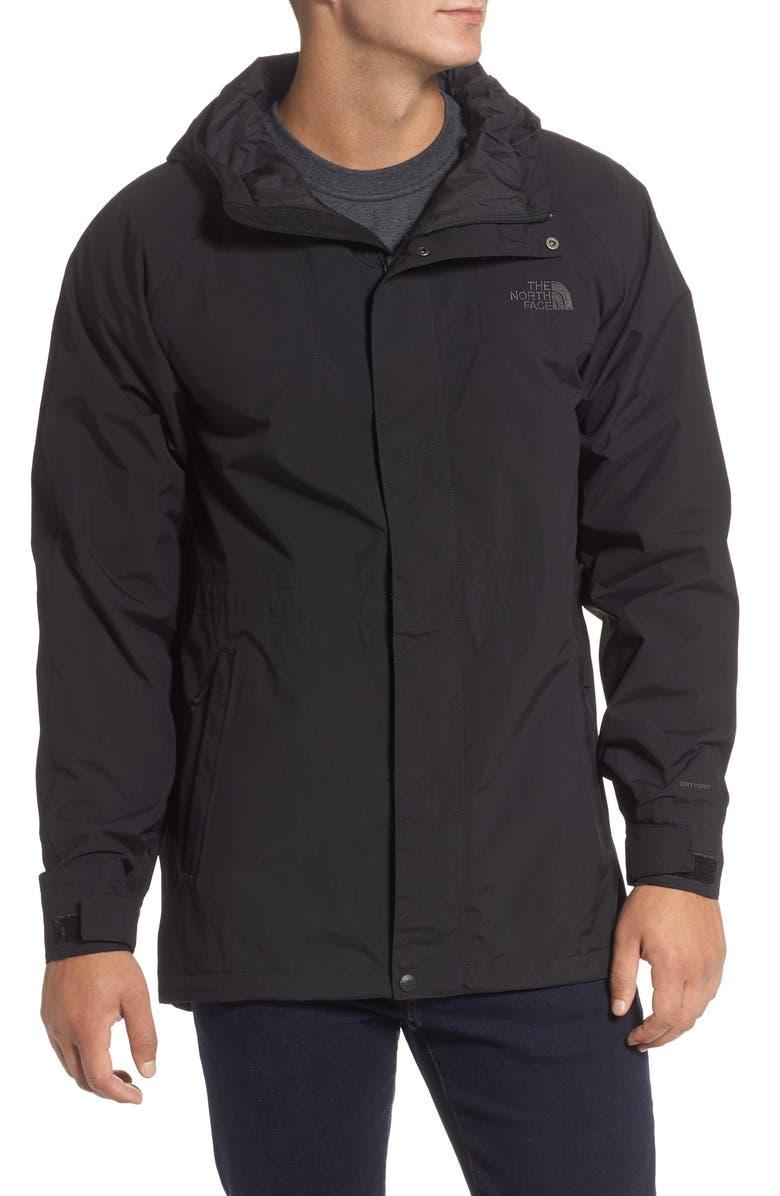 THE NORTH FACE City Breeze Raincoat, Main, color, TNF BLACK