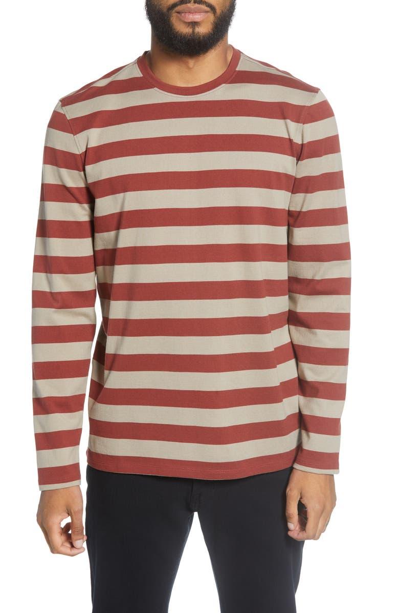 BLDWN McMinn Stripe Long Sleeve T-Shirt, Main, color, 600