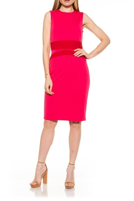 Image of Alexia Admor Arielle Colorblock Dress
