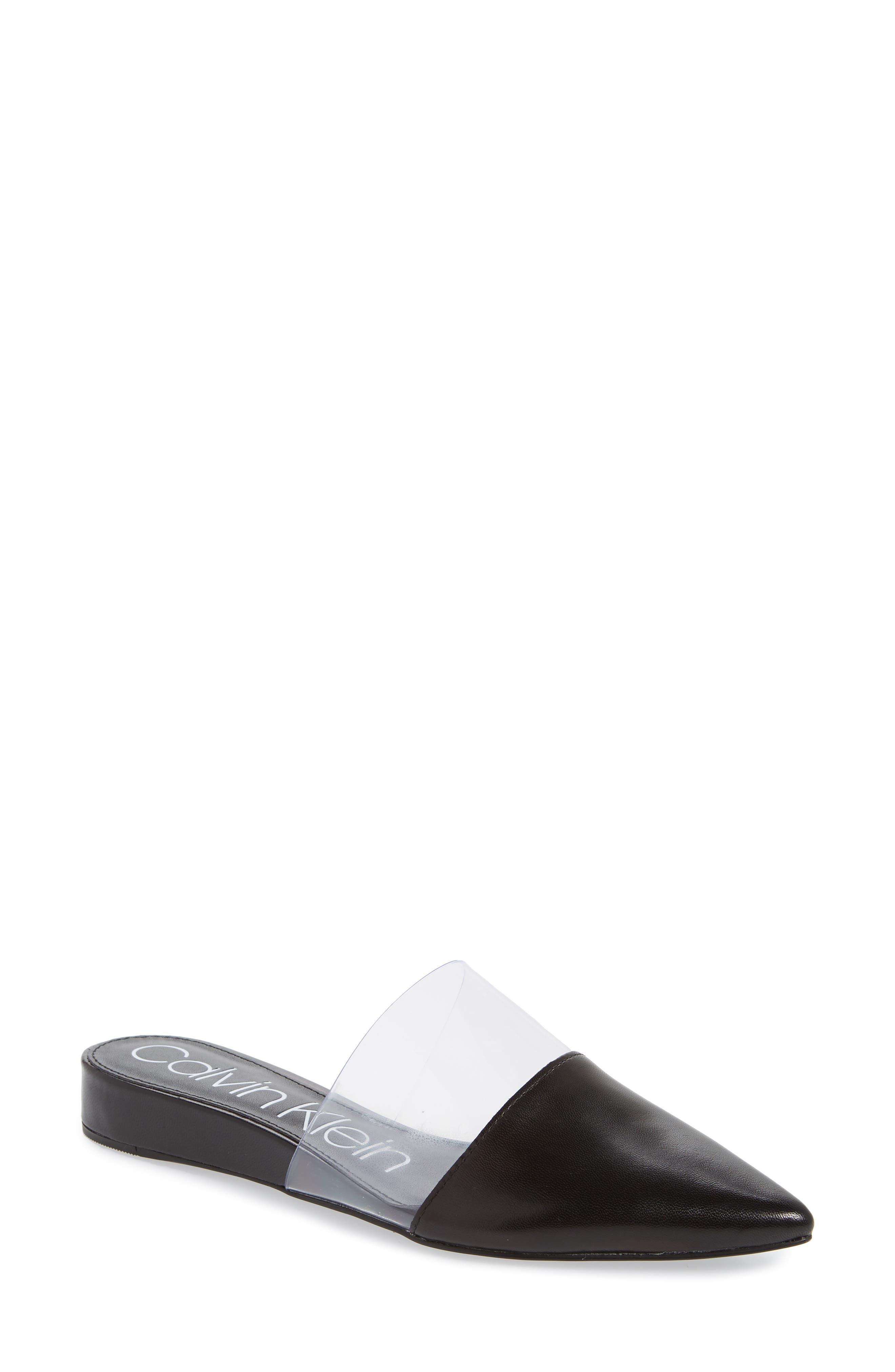 Calvin Klein Charmone Mule- Black